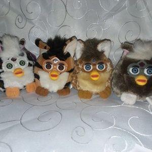 Cute fluffy Furbies